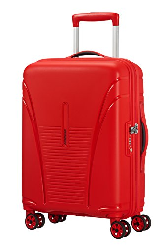 Valise cabine rouge rigide rouge pour femmeAmerican Tourister